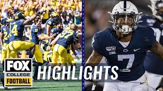 Week 2: Michigan escapes, Ohio State dominates, & Nebraska falls | FOX COLLEGE FOOTBALL HIGHLIGHTS