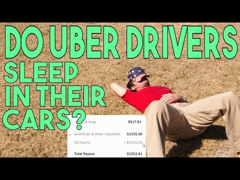 Do Uber Drivers Sleep In Their Cars? I Did Once, Crazy Story!