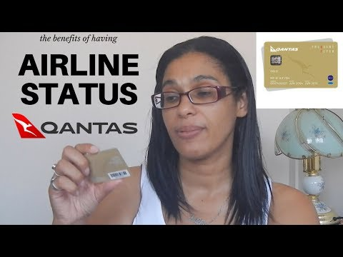 Losing Qantas gold status | the benefits when flying internationally