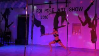 Agnieszka Komorowska - Ii Miejsce-advanced-pdi Pole Art Show 2016@3 Urodziny Pole Dance Institute