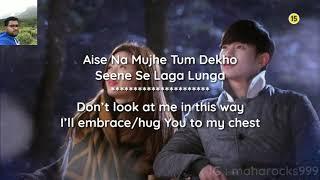 Dil mein Chhupa Loonga Lyrics with English translation with - Armaan Maalik Tulsi Kumar Wajah Tumho 