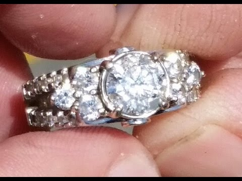 Two Carat Diamond Ring Reunited with Owner – 1st Dive of the Year