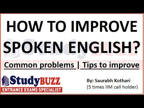 How to improve spoken English? English speaking tips & techniques