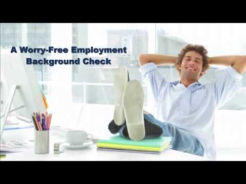A Worry Free Employment Background Check