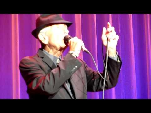 Leonard Cohen - Closing Time - LG Arena, Birmingham - 08-09-2013