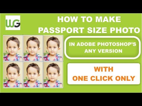 How to make passport size photo in adobe Photoshop 7.0 step to step guide 2018, 100% Practical