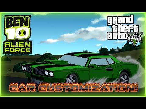 Ben 10 Alien Force: Kevin's 2009 Dodge Challenger! (Gta 5)
