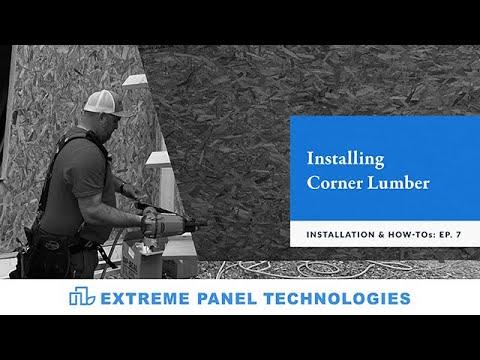 Episode: 7- Installing Corner Lumber