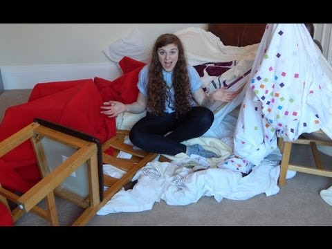 HOW TO: Make a Blanket Fort