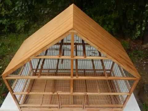 Making a unique birdcage