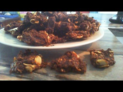 Raw vegan SQUASH AND FIG cookies