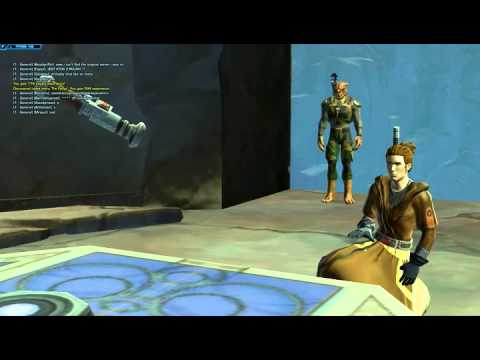 SWTOR - Jedi Consular Lightsaber build
