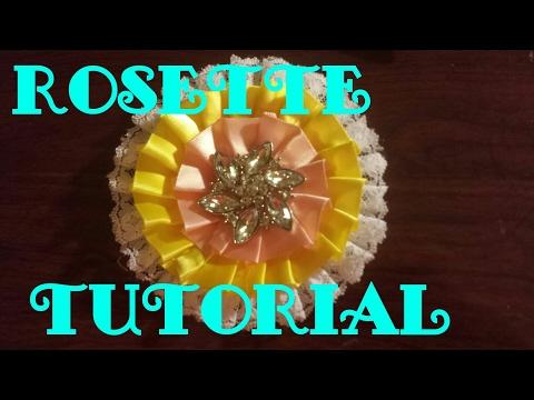 Ribbon Rosette Tutorial Part 1
