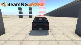 BeamNG drive - FAZENDO CIRCUITO DE CHECKPOINTS.