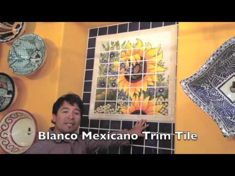 How to design a Mexican Tile Mural