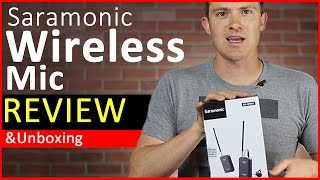 Saramonic Wireless Microphone Review and Unboxing (Best Cheap Wireless Mic Solution)