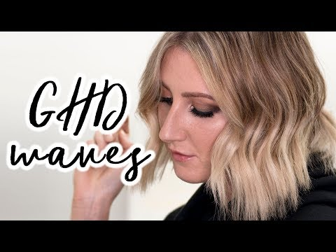 5 MINUTE GHD WAVES | Short Hair Tutorial