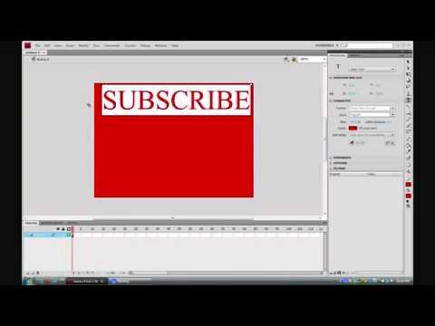 How To Make A Banner Using Adobe Flash CS3 CS4