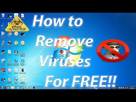 How to Remove Virus/ Trojans / Malware / Spyware For FREE 2017