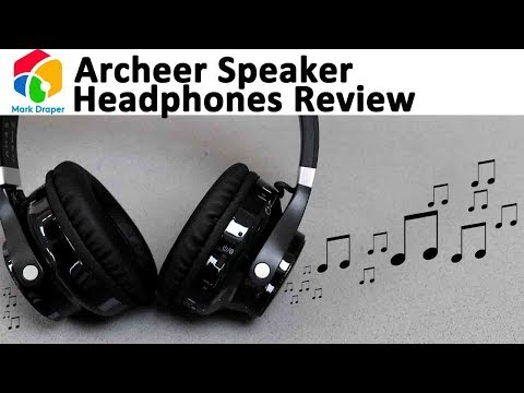 Archeer Headphone with Speakers Review