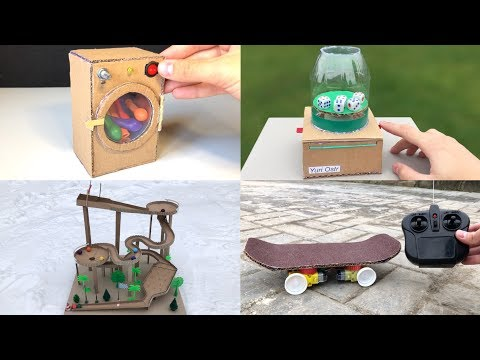 4 incredible Things You Can Make from Cardboard