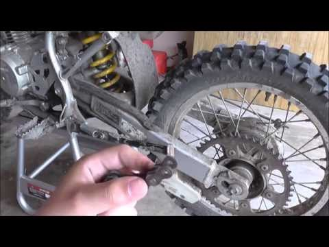 How To Adjust And Shorten Dirt Bike Chain