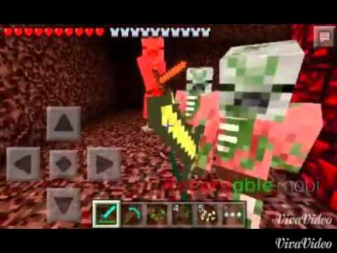 Minecraft PE 0.10.5:Portal do Nether