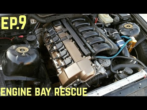 ENGINE BAY TOUCH UP! : BMW E36 325i