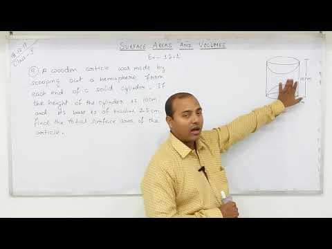 Class-10 Surface Areas and Volumes  (Part-5)