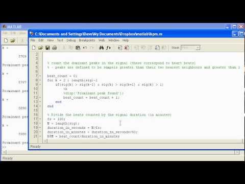Signal Analysis using Matlab - A Heart Rate example - PakVim net HD