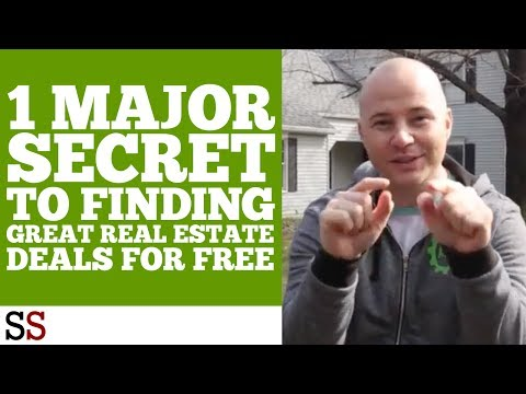 1 MAJOR Secret to Finding Great Real Estate Deals FOR FREE