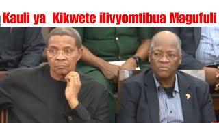 Kauli ya Kikwete Iliyo Chafua hali ya Hewa Nchini