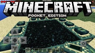 How To Make An End Portal Minecraft Pe Minecraft Pocket Edition Windo