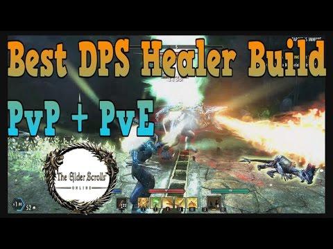 ESO Best DPS Healer Build (PvP + PvE)