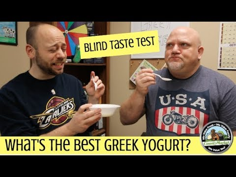 What's the Best Tasting Greek Yogurt? Blind Taste Test | Ranking
