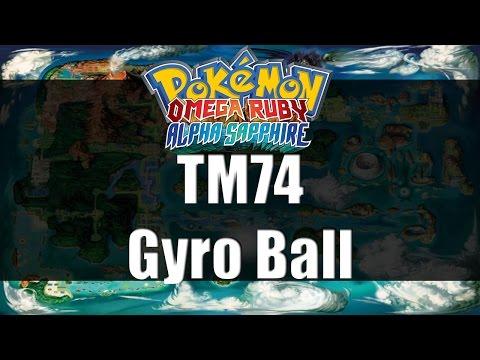 Pokemon Omega Ruby & Alpha Sapphire | Where to get TM74 Gyro Ball