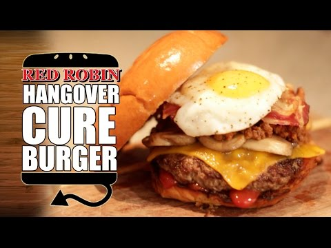 THE HANGOVER CURE BURGER