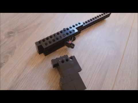 Lego Single-Shot Rubberband Gun Instructions