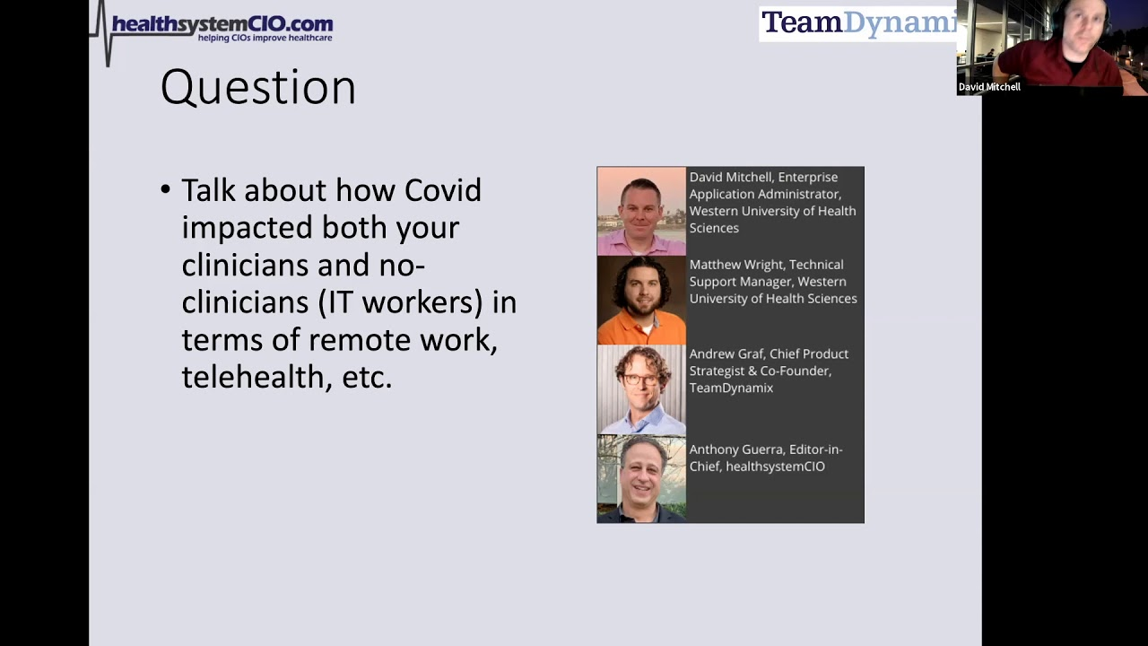 Optimizing Your Help Desk to Support a Remote Workforce (Sponsored by TeamDynamix)