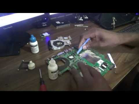 How to Change CPU Thermal Paste For HP Pavilion dv2000 Motherboard