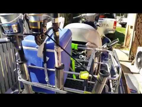 Jetski Fishing Rack