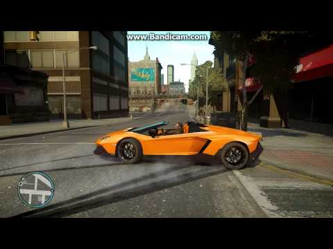 GTA 4 Mod: Lamborghini Aventador 50th Anniversary Roadster