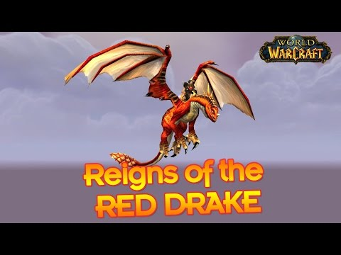 How to get a Red Drake in World of Warcraft