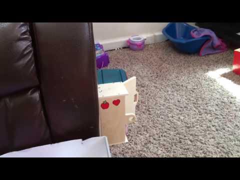 DIY baby alive nursery tour