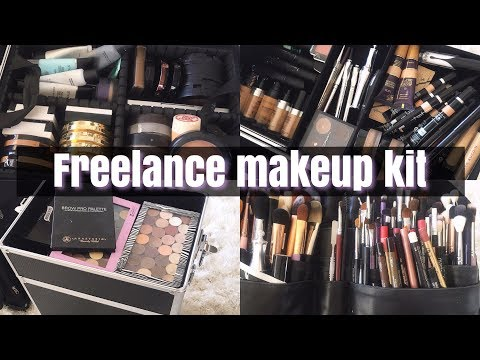 Freelance makeup kit l Must haves l whats in my  kit l cflowermakeup