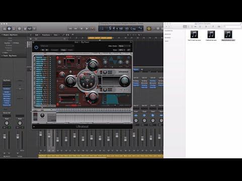 How to use custom samples with Drum Machine Designer