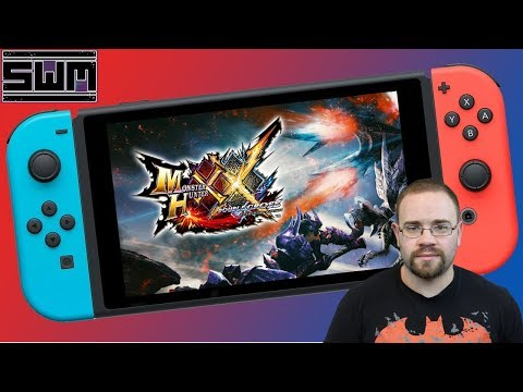 Monster Hunter XX Demo Nintendo Switch! Spawn Wave Plays!