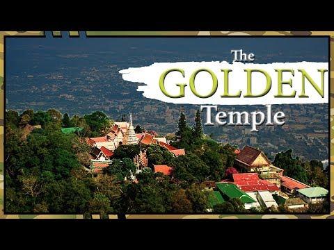 The GOLDEN Temple | Wat Phra Doi Suthep | Chaing Mai Temple Tour