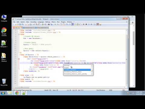 Learn how to create a PHP Lovers Blog using PHP and MySQL - Part 4