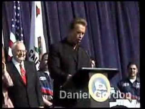 Governor Arnold Schwarzenegger Repeals Car tax